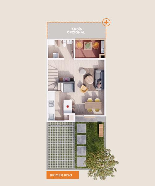 Tangara primero piso